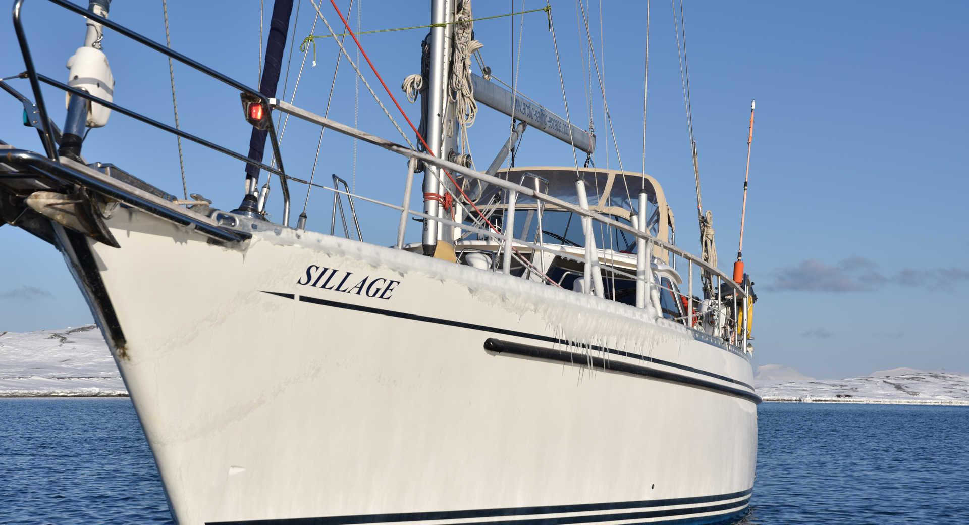 Croisière voilier au Spitzberg