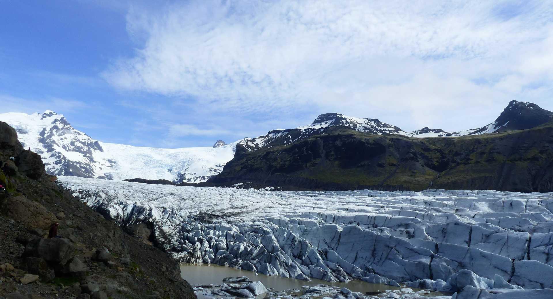 Photo du glacier Svinafellsjokull
