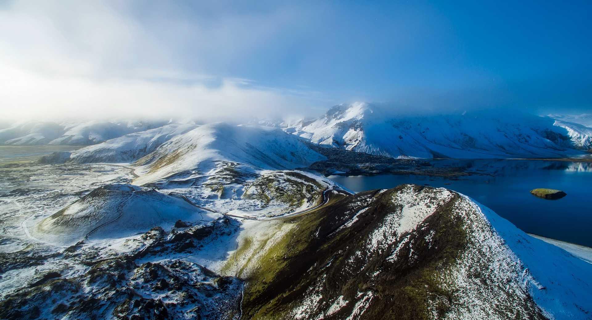 Islande l'hiver