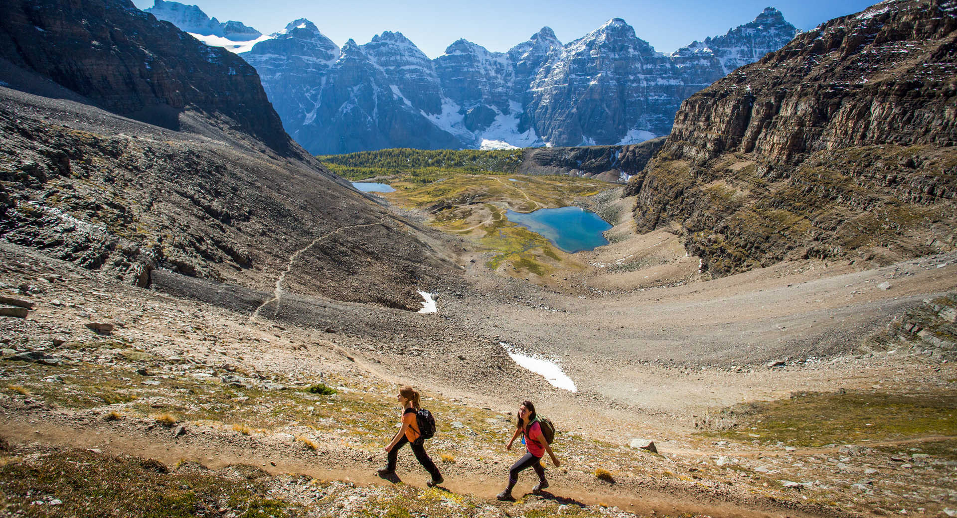 Randonnée dans les Rocheuses canadiennes