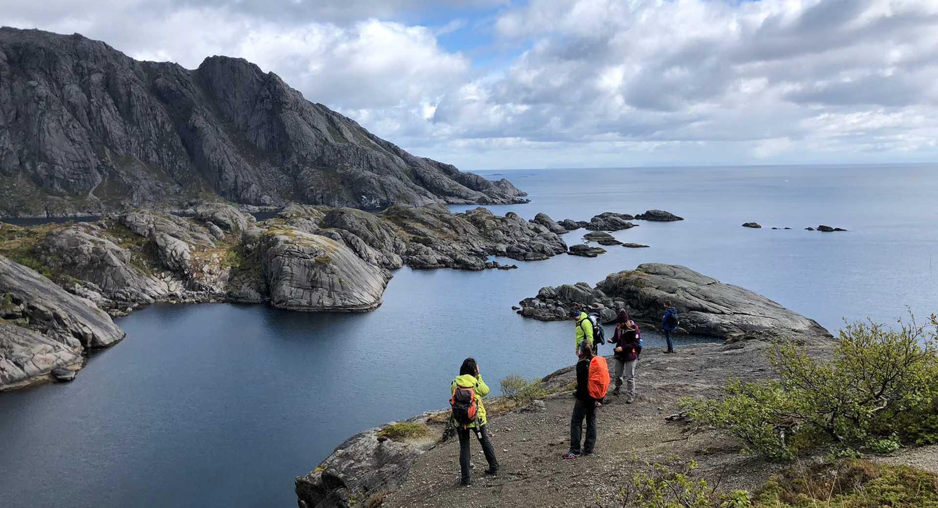 Randonnée Norvège dans les Lofoten Nesland Nusfjord
