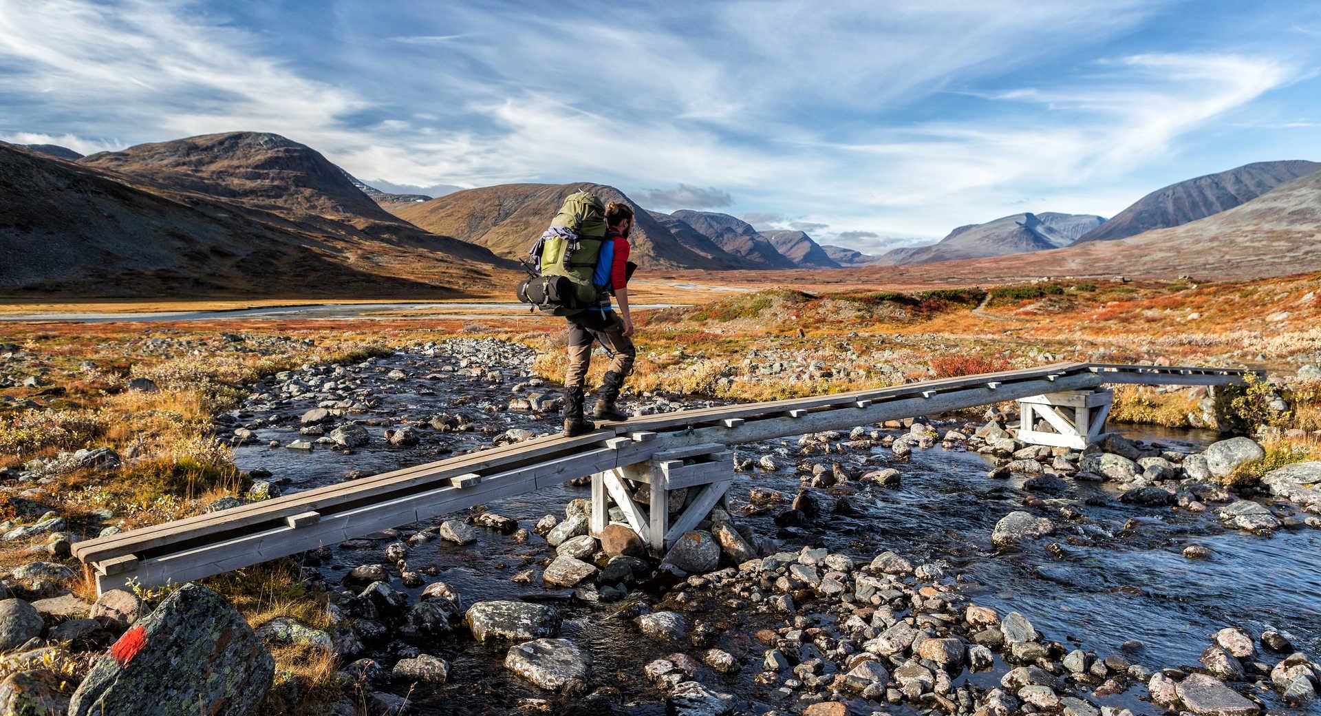 Randonnée sur la Kungsleden en Suède