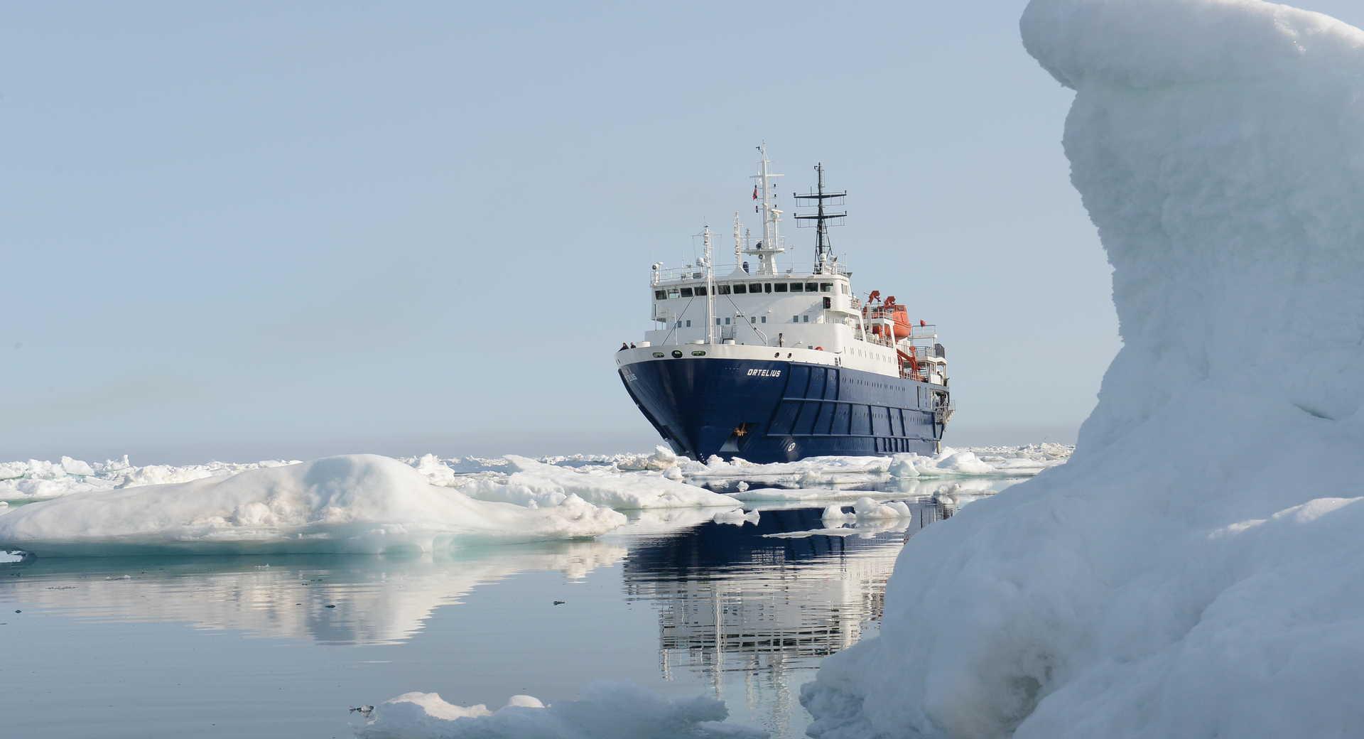 Croisière polaire à bord de l'Ortelius