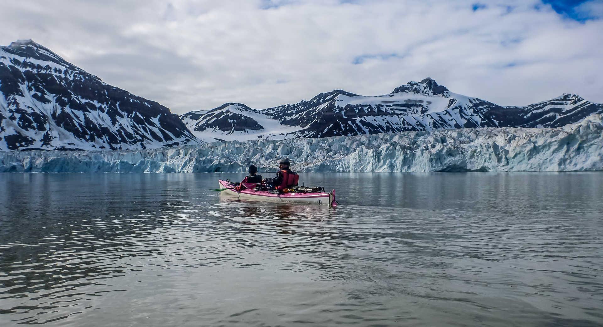 Voyage kayak au Spitzberg