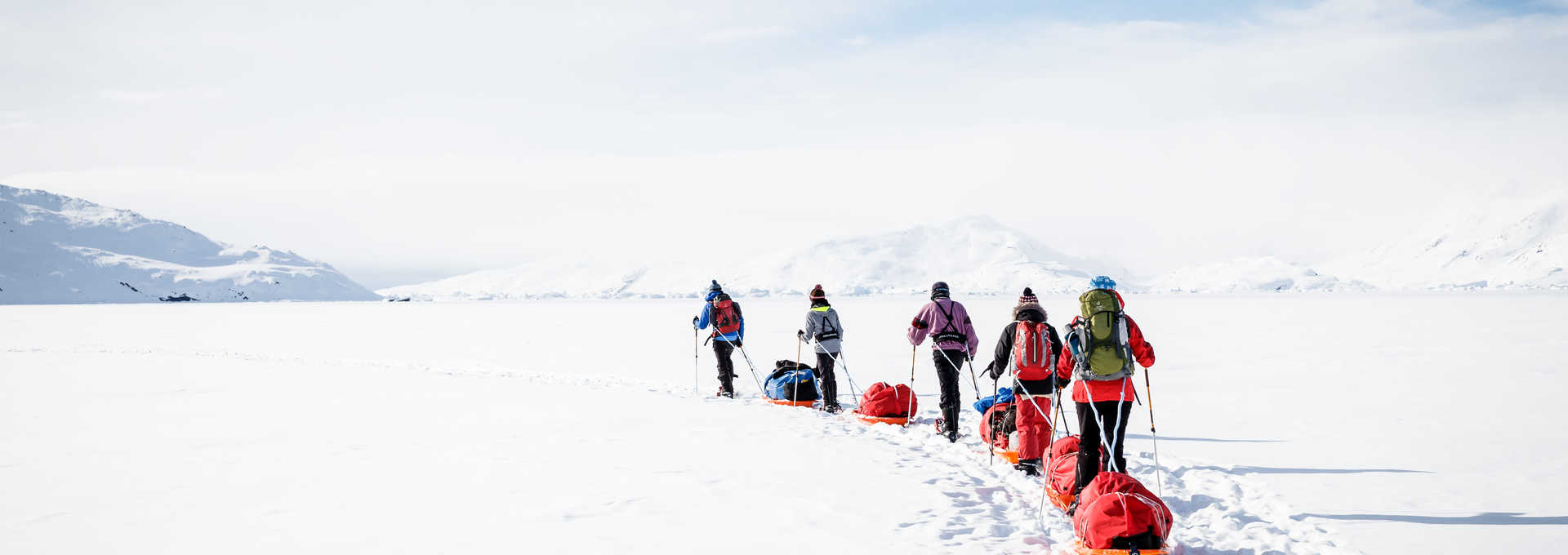 voyage raquettes en hiver au Groenland