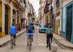 A vélo dans La Havane