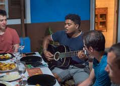 Ambiance musicale le soir au Cap Vert !