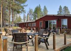 Auberge Norwide Finlande à Hossa l'été