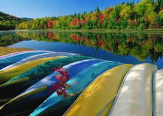 Canoe au Canada