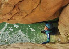 Canyoning dans la Sierra Guara en Espagne