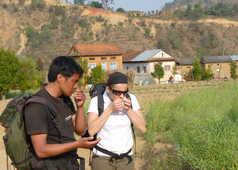 Découverte de la campagne népalaise