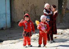 enfants ouzbeks