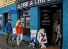 Fish & Chips sur l'île de Sky en Ecosse