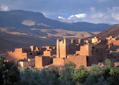 Kasbah vallée du Dades, Maroc