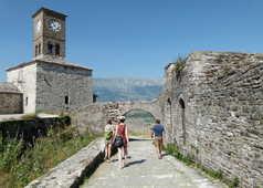 la citadelle de Gjirokastra
