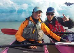 Maud Sevaux et Nicolas Volponi, guides Spitzberg