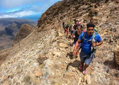 Montée au Pico da Cruz