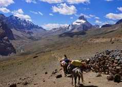 Paysages de la grande traversée du Zanskar