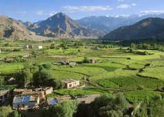 Paysages de la vallée de l'Indus