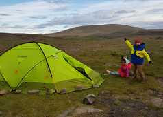 Camping en Islande avec des enfants
