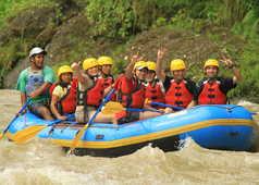descente du rio Pacuare en raft