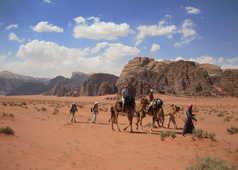 Rando dans le Wadi Rum
