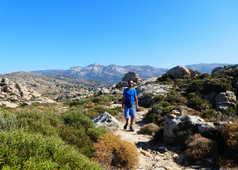 Randonnée à Naxos, sentier Muletier