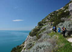 Randonnée dans le Gargano en Italie