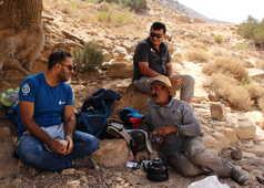 Rencontre autour d'un thé avec notre guide