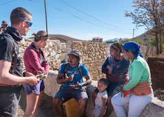 Rencontre et partage sur Santo Antao