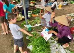 rencontre marché Vietnam