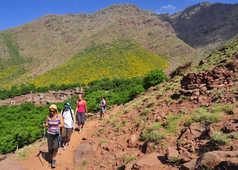 Trek vallée du Zat, Maroc