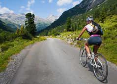 Vélo dans le Vercors