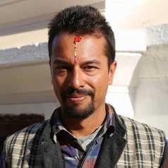 Arjun, guide de notre équipe Altaï Népal