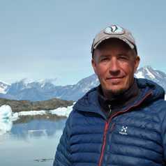 Arnaud Poupounot, guide arctique