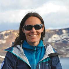 Caroline Dudziak, guide arctique