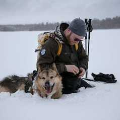 Charles Ariza, guide arctique en Finlande