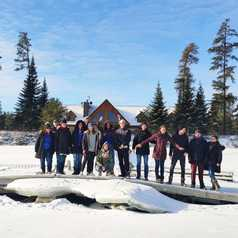 Equipe locale Altaï Canada et camp Taureau