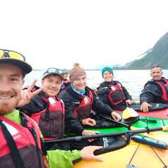 Equipe Norvège en kayak
