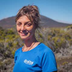 Jessica, responsable de notre agence locale à la Réunion
