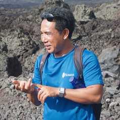 Kadek Budi, guide en Indonésie