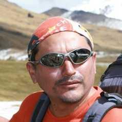 Lucho, responsable d'Altaï Pérou