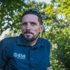 Mathieu, guide à la Réunion