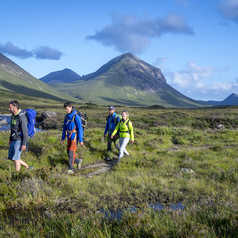Randonnée à Slichagan, île de Skye