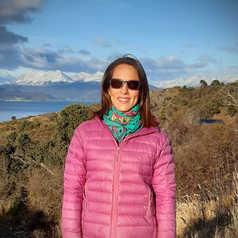 Yamile, guide en Patagonie