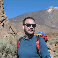 Yann au Parc National du Teide