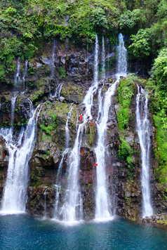 Cascade Langevin à la Réunion