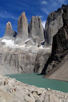 Le mirador de Las Torres dans le parc national Torres del Paine