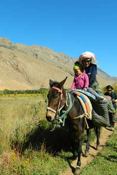 Maroc, vallée des Aït Bougmez, rando muletières