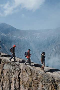 Randonnée au volcan Bromo à Java